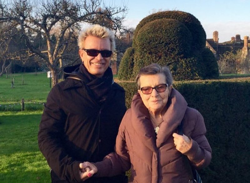 Billy Idol's family - mother Joan Broad