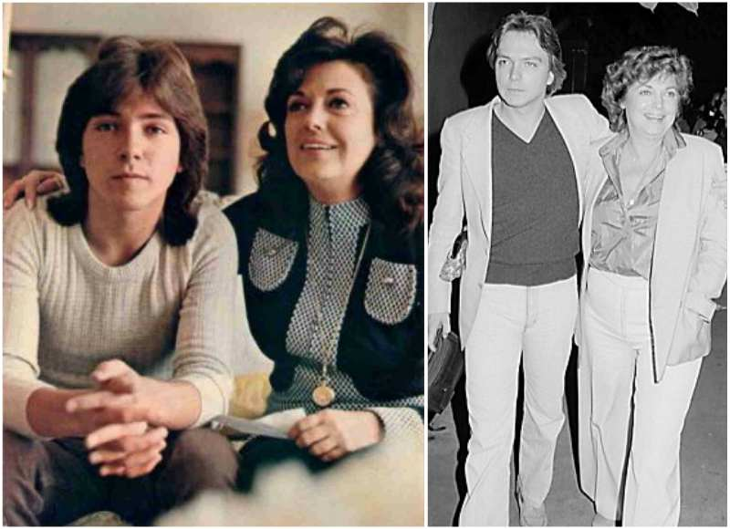 David Cassidy's family - mother Evelyn Ward