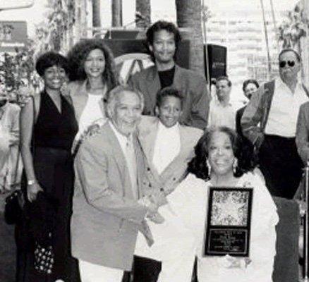 Della Reese's family