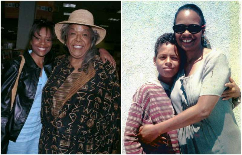 Della Reese's children - adopted daughter Deloreese Daniels Owens