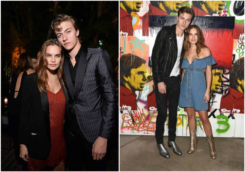 Lucky Blue Smith's family - girlfriend Stormi Bree Henley