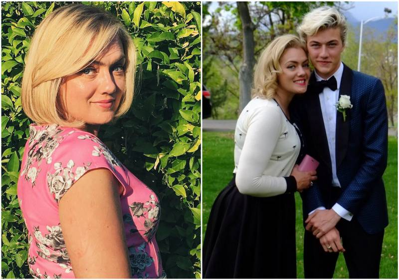 Lucky Blue Smith's family - mother Sheridan Smith