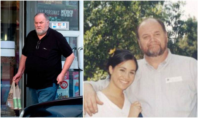 Meghan Markle's family - father Thomas Markle Sr.