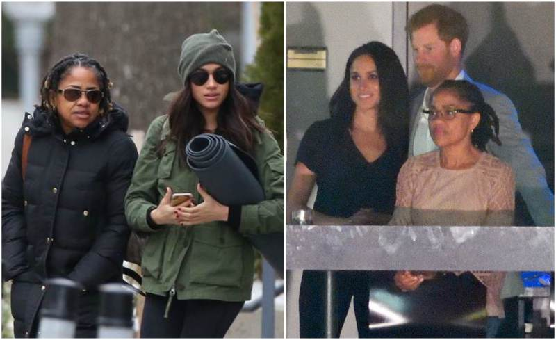 Meghan Markle's family - mother Doria Radlan