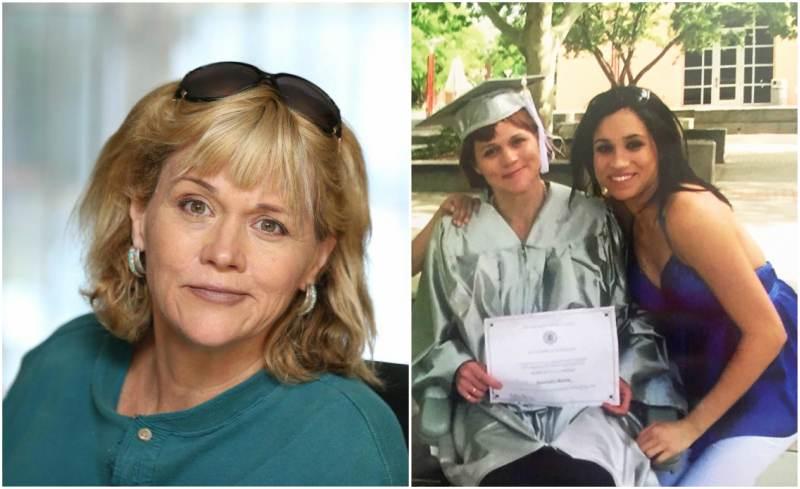 Meghan Markle's family - half-sister Samantha Grant