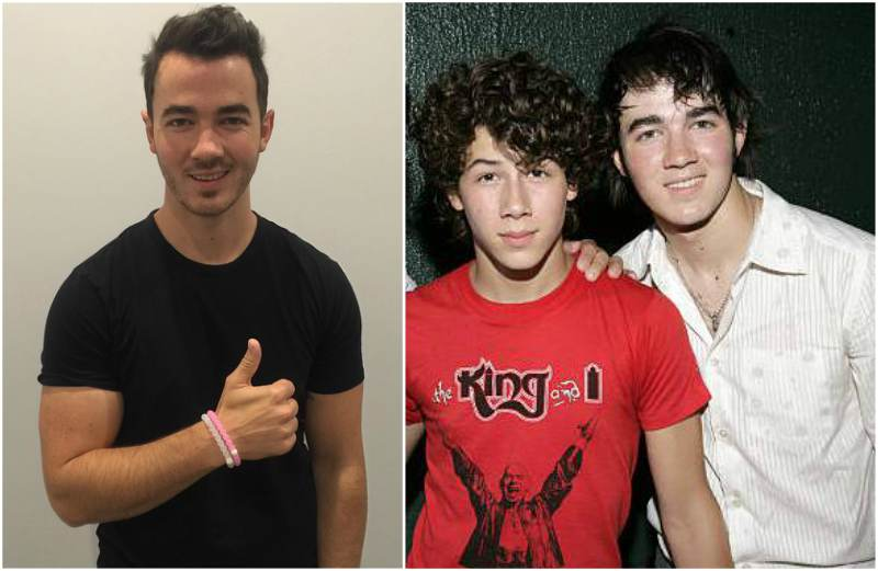 Nick Jonas' siblings - brother Kevin Jonas