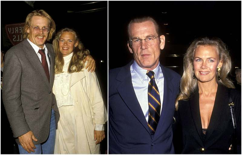 Nick Nolte's family - ex-wife Rebecca Linger
