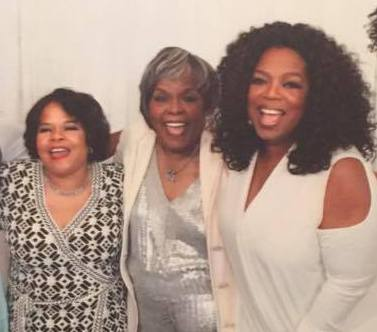Oprah Winfrey's family - mother Vernita Lee and half-sister Patricia Lofton