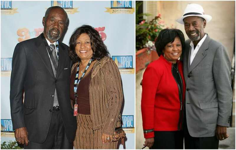 Oprah Winfrey's family - father Vernon Winfrey and step-mother Barbara Winfrey