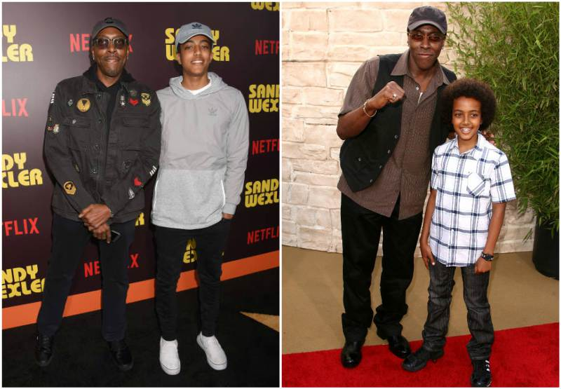 Arsenio Hall's children  - son Arsenio Cheron Hall Jr.