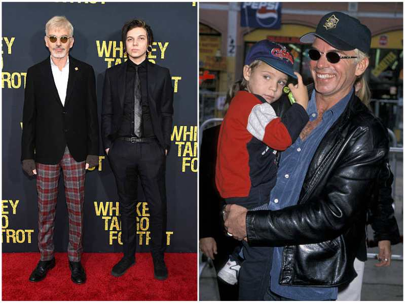 Billy Bob Thornton's children - son William Langston Thornton