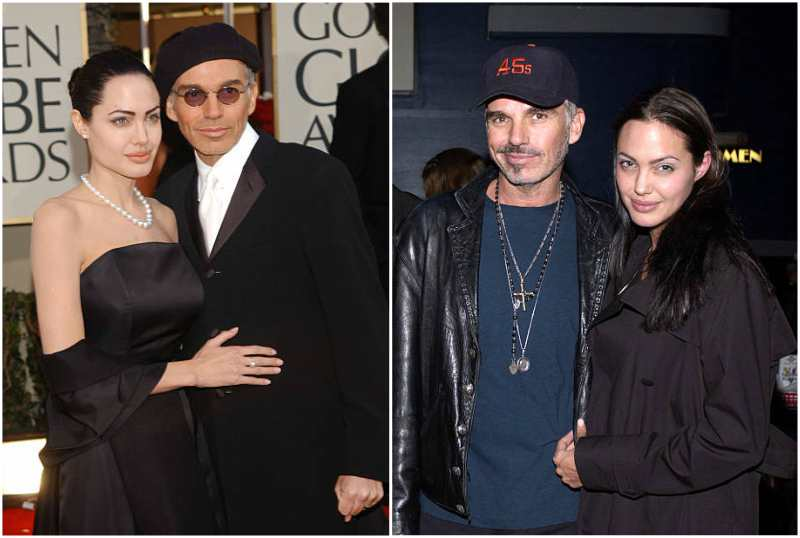 Billy Bob Thornton's family - ex-wife Angelina Jolie