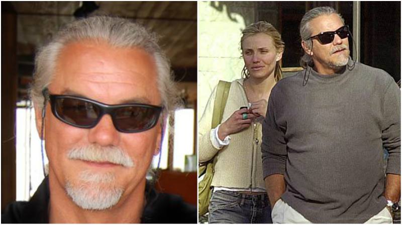 Cameron Diaz's family - father Emilio Diaz