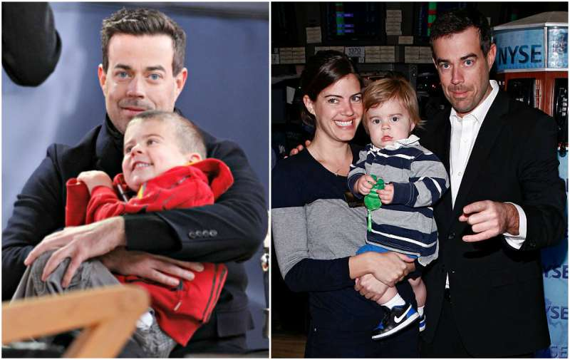 Carson Daly's children - son Jackson James Daly