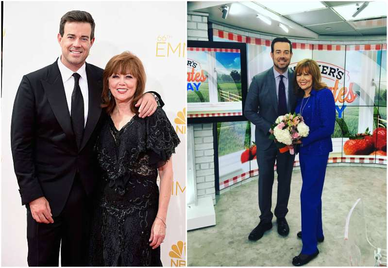 Carson Daly's family - mother Pattie Daly Caruso