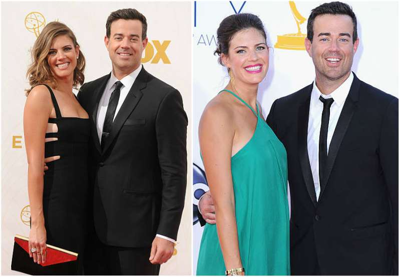 Carson Daly's family - wife Siri Pinter