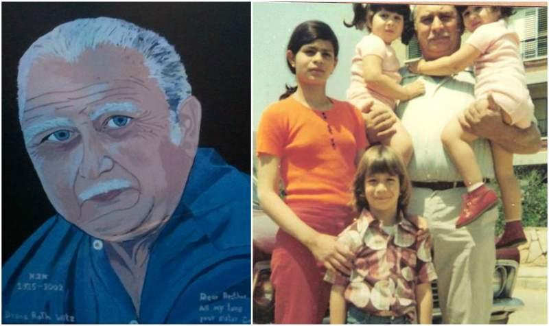Gene Simmons' family - father FeriYechielWitz
