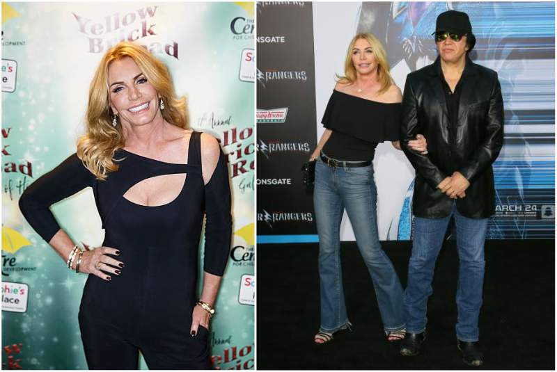 Gene Simmons' family - wife Shannon Tweed
