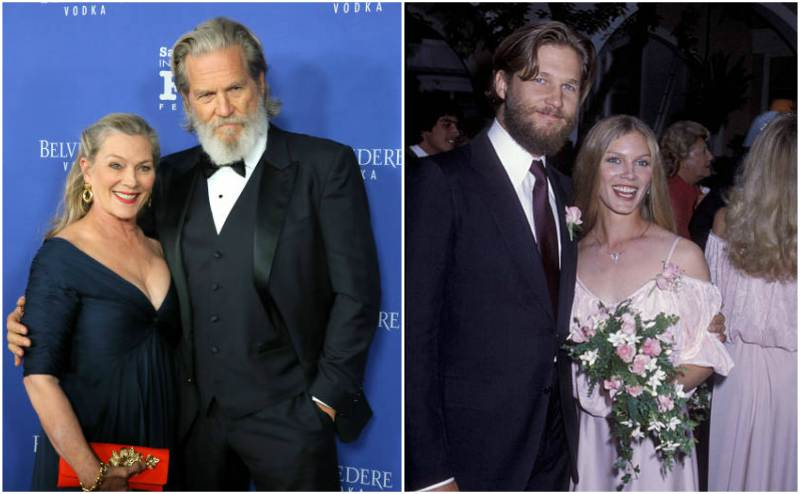 Jeff Bridges' family - wife Susan Bridges