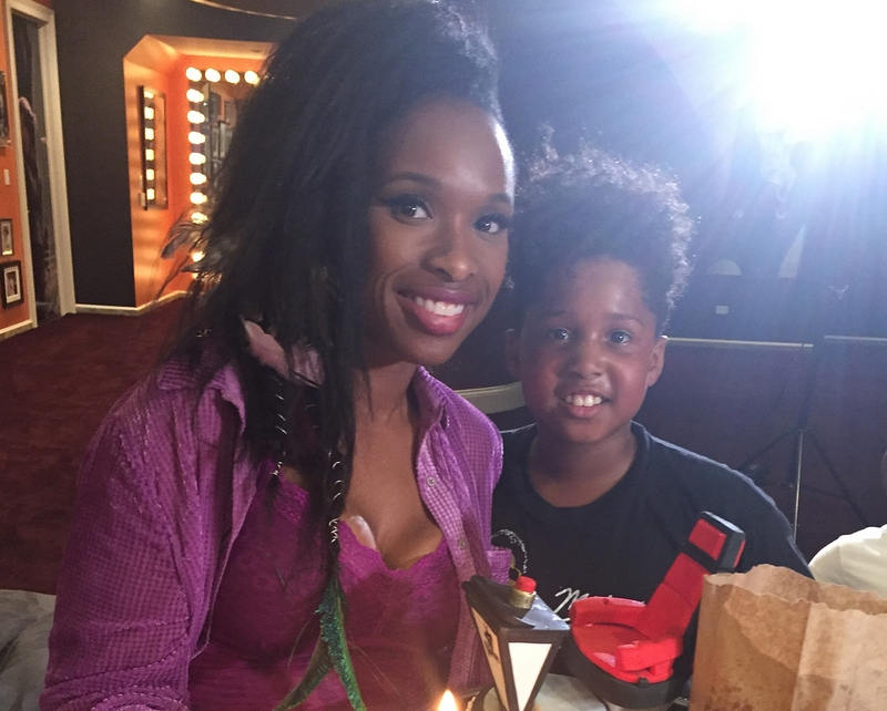Jennifer Hudson's children - son David Daniel Otunga Jr.