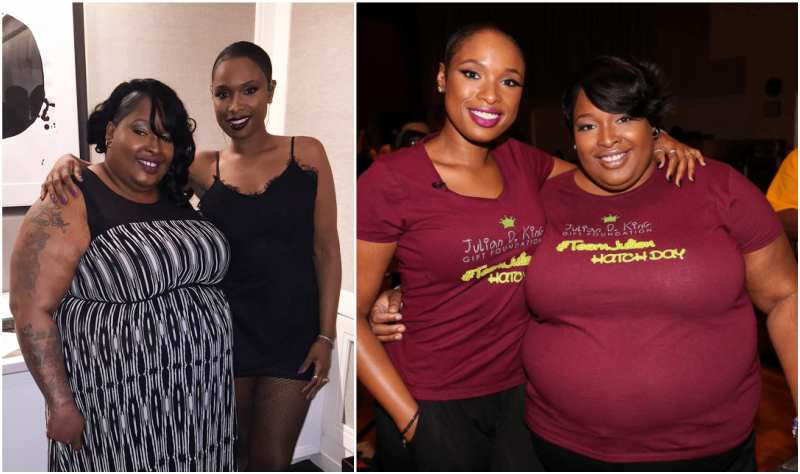 Jennifer Hudson's siblings - sister Julia Hudson