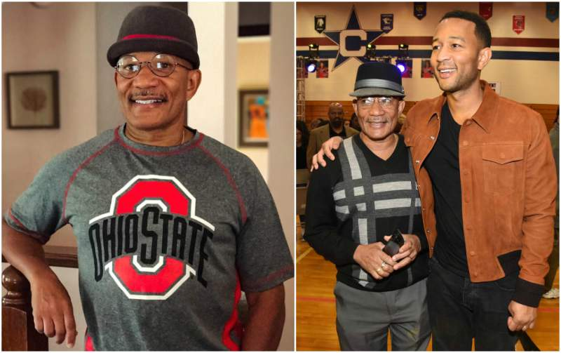John Legend's family - father Ronald StephensSr.