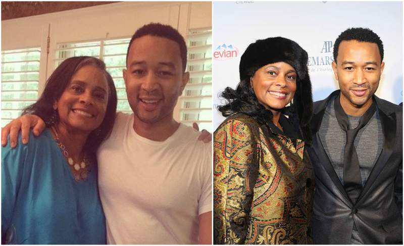 John Legend's family - mother Phyllis Stephens