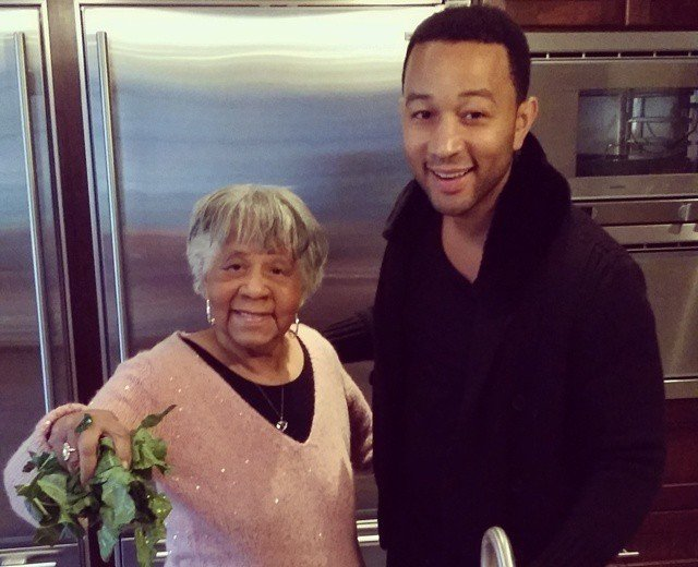 John Legend's family - paternal grandmother Marjorie Stephens