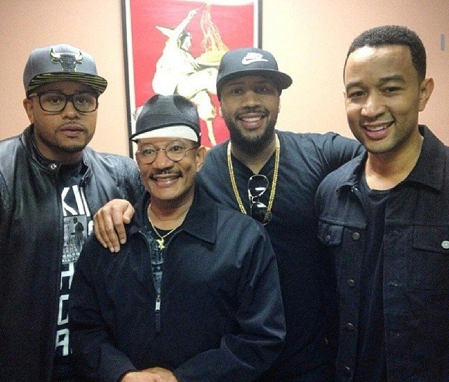 John Legend's family - father and brothers