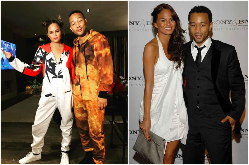"John Legend's family - wife Christine ""Chrissy"" Diane Teigen"