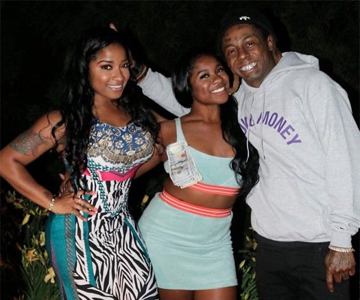 Lil Wayne's children - daughter Reginae Carter