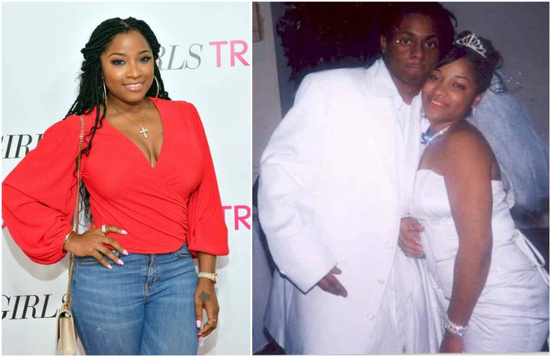 "Lil Wayne's family - ex-wife Antonia ""Toya"" Wright"