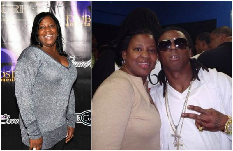 Lil Wayne's family - mother Jacida Carter
