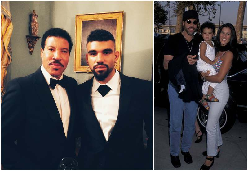 Lionel Richie's children - son Miles Brockman Richie