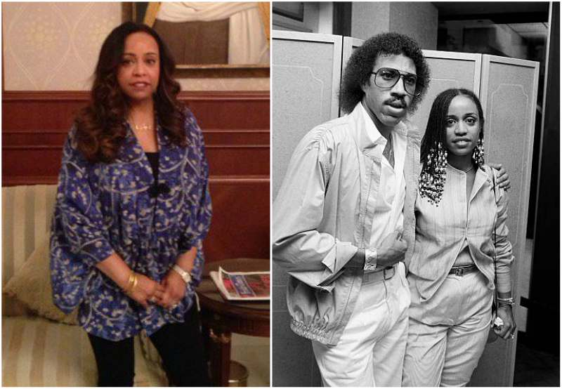 Lionel Richie's family - ex-wife Brenda Harvey-Richie