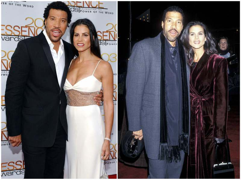 Lionel Richie's family - ex-wife Diane Richie