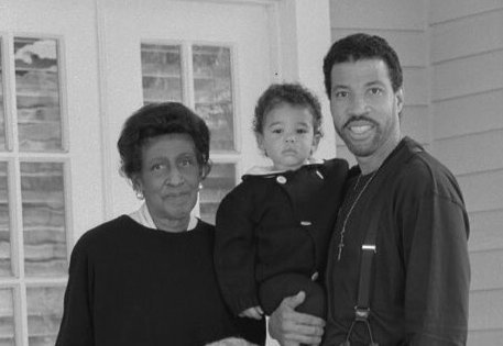 Lionel Richie's family - mother Alberta R. Richie