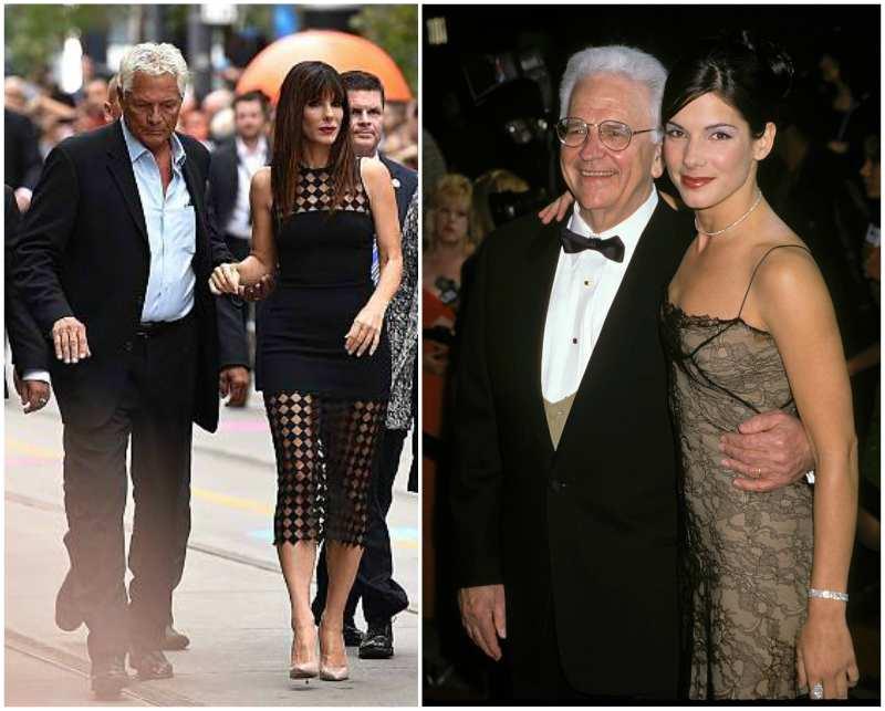 Sandra Bullock's family - father John Wilson Bullock