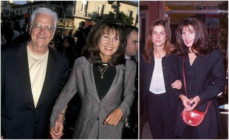 Sandra Bullock's family - mother Helga Mathilde Meyer