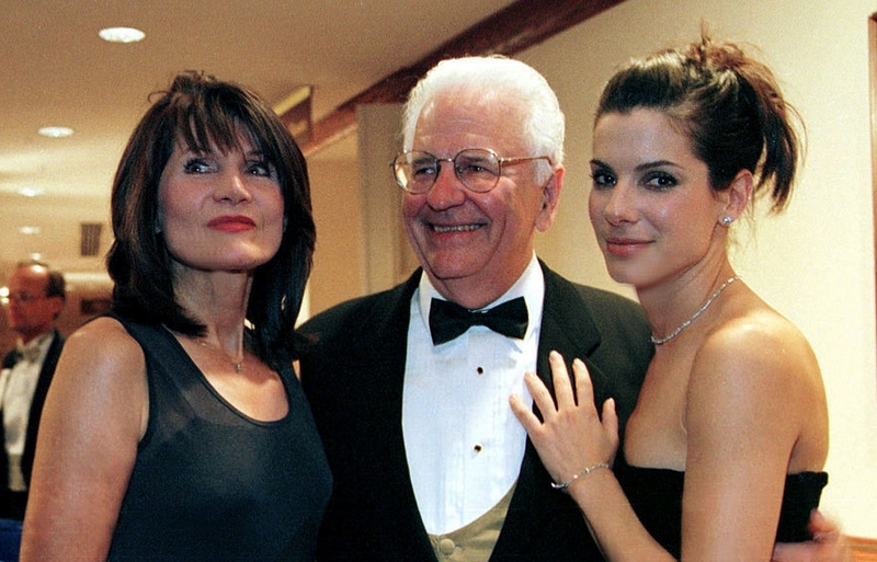 Sandra Bullock's family - parents