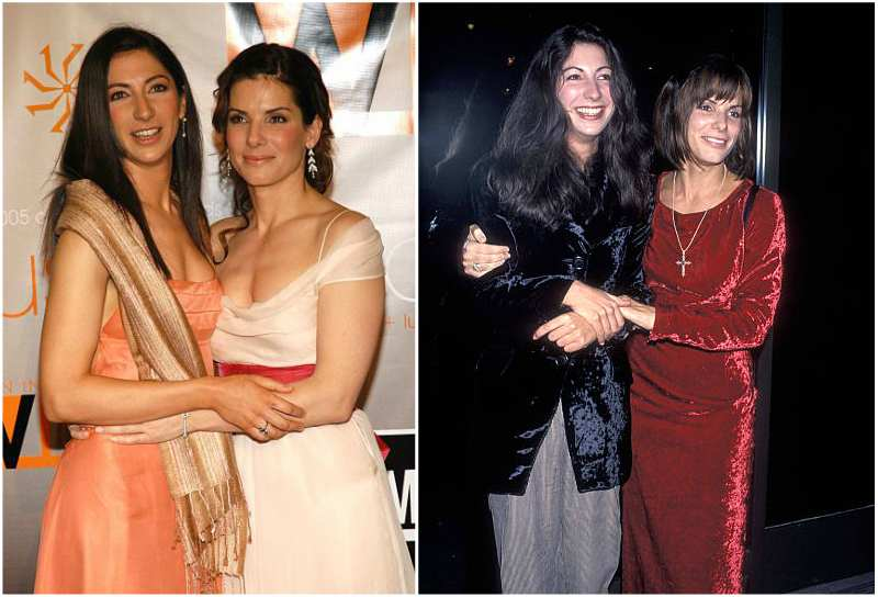 Sandra Bullock's siblings - sister Gesine Bullock-Prado