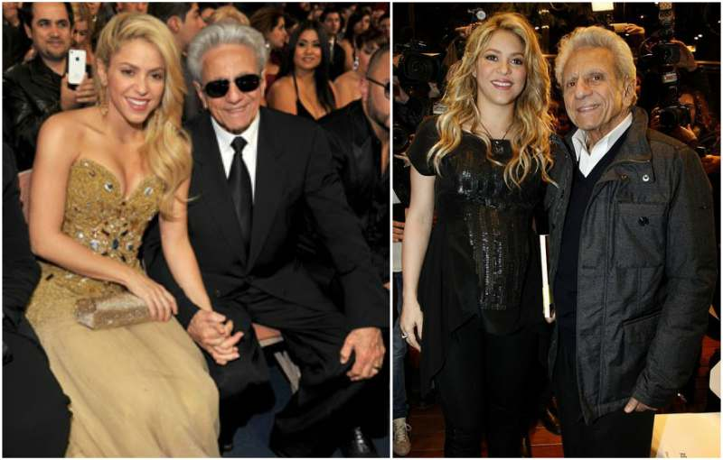 Shakira's family - father William Mebarak Chadid