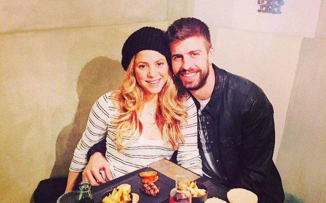 Shakira's family - husband Gerard Pique Bernabeu
