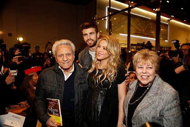 Shakira's family - parents