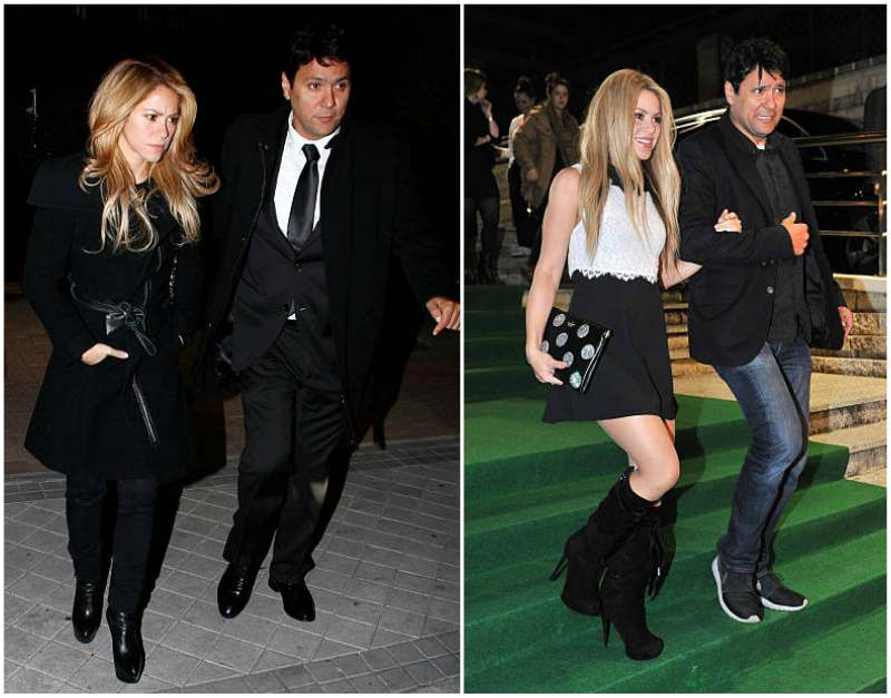 Shakira's siblings - half-brother Tonino Mebarak
