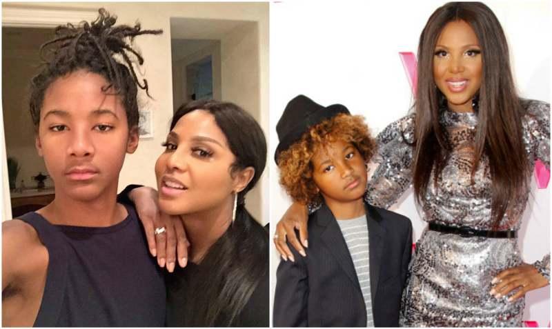 Toni Braxton's children - son Diezel Ky Braxton-Lewis