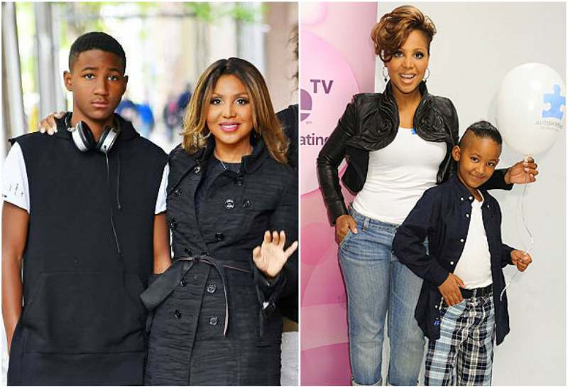 Toni Braxton's children - son Denim Cole Braxton-Lewis