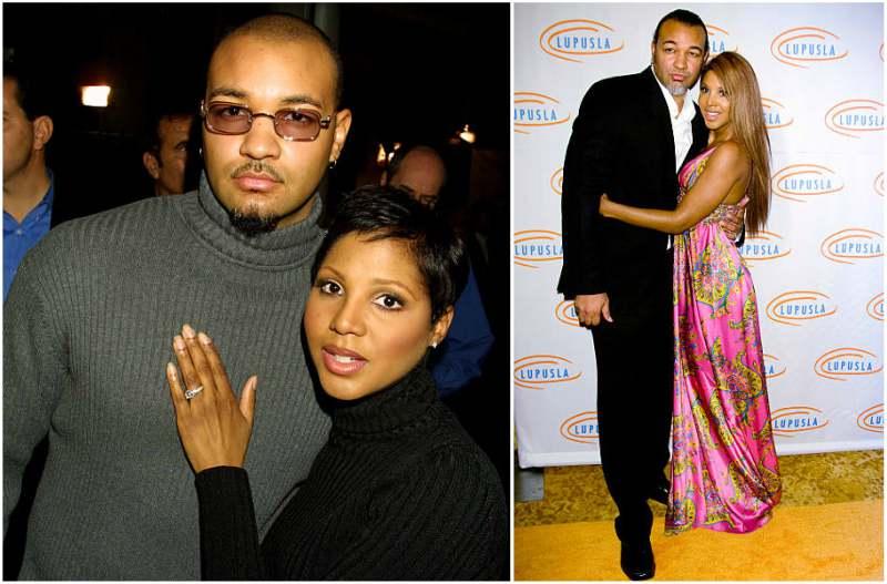 Toni Braxton's family - ex-husband Keri Lewis