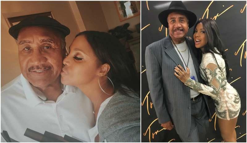 Toni Braxton's family - father Michael Conrad BraxtonSr