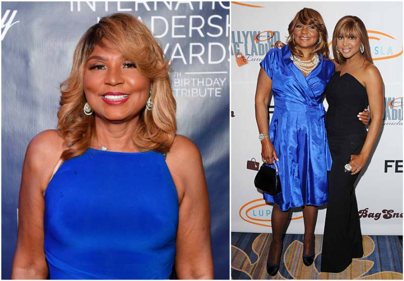 Toni Braxton's family - mother Evelyn Braxton
